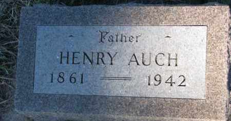 AUCH, HENRY - Yankton County, South Dakota | HENRY AUCH - South Dakota Gravestone Photos