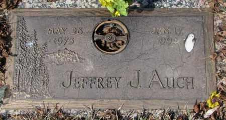 AUCH, JEFFREY J. - Yankton County, South Dakota | JEFFREY J. AUCH - South Dakota Gravestone Photos