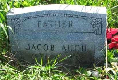AUCH, JACOB - Yankton County, South Dakota | JACOB AUCH - South Dakota Gravestone Photos