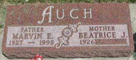 AUCH, BEATRICE J. - Yankton County, South Dakota | BEATRICE J. AUCH - South Dakota Gravestone Photos