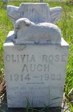AUCH, OLIVIA ROSE - Yankton County, South Dakota | OLIVIA ROSE AUCH - South Dakota Gravestone Photos
