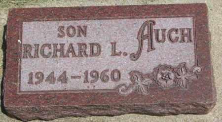 AUCH, RICHARD L. - Yankton County, South Dakota   RICHARD L. AUCH - South Dakota Gravestone Photos