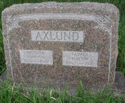 AXLUND, MARTIN - Yankton County, South Dakota | MARTIN AXLUND - South Dakota Gravestone Photos