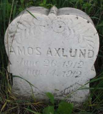 AXLUND, AMOS - Yankton County, South Dakota | AMOS AXLUND - South Dakota Gravestone Photos