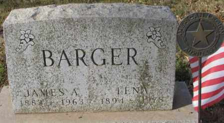 BARGER, LENA - Yankton County, South Dakota | LENA BARGER - South Dakota Gravestone Photos
