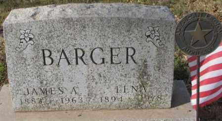 BARGER, JAMES A. - Yankton County, South Dakota | JAMES A. BARGER - South Dakota Gravestone Photos