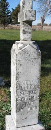 BARTOS, JOHN - Yankton County, South Dakota | JOHN BARTOS - South Dakota Gravestone Photos