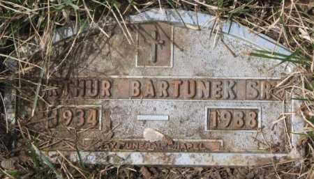 BARTUNEK, ARTHUR SR. - Yankton County, South Dakota | ARTHUR SR. BARTUNEK - South Dakota Gravestone Photos