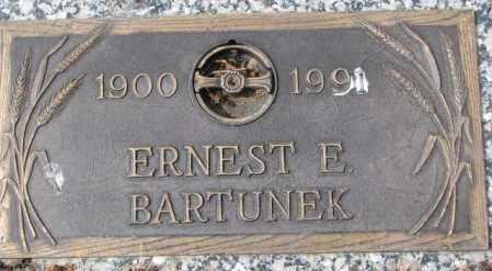 BARTUNEK, ERNEST E. - Yankton County, South Dakota | ERNEST E. BARTUNEK - South Dakota Gravestone Photos