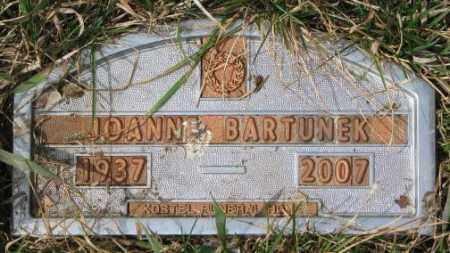 BARTUNEK, JOANNE - Yankton County, South Dakota | JOANNE BARTUNEK - South Dakota Gravestone Photos