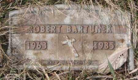 BARTUNEK, ROBERT - Yankton County, South Dakota   ROBERT BARTUNEK - South Dakota Gravestone Photos
