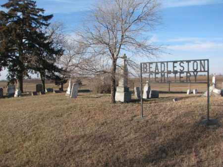 *BEADLESTON, WIDE VIEW - Yankton County, South Dakota | WIDE VIEW *BEADLESTON - South Dakota Gravestone Photos