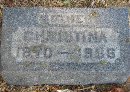 BECKER, CHRISTINA - Yankton County, South Dakota   CHRISTINA BECKER - South Dakota Gravestone Photos