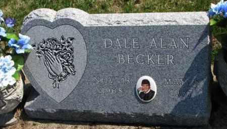 BECKER, DALE ALAN - Yankton County, South Dakota | DALE ALAN BECKER - South Dakota Gravestone Photos