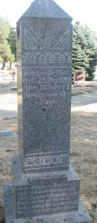 BECKER, JOHANNES - Yankton County, South Dakota   JOHANNES BECKER - South Dakota Gravestone Photos