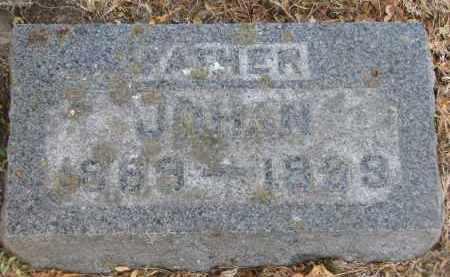 BECKER, JOHAN - Yankton County, South Dakota   JOHAN BECKER - South Dakota Gravestone Photos