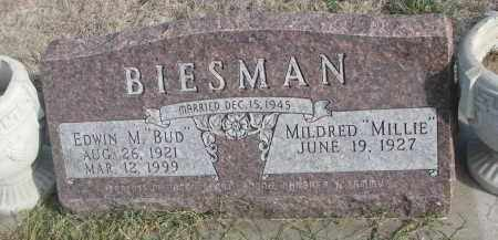 "BIESMAN, MILDRED ""MILLIE"" - Yankton County, South Dakota 