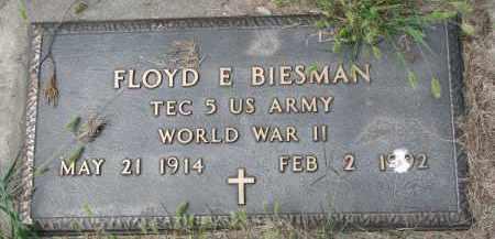 BIESMAN, FLOYD E. (WW II) - Yankton County, South Dakota | FLOYD E. (WW II) BIESMAN - South Dakota Gravestone Photos