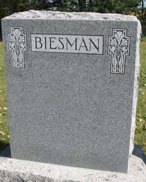 BIESMAN, FAMILY STONE - Yankton County, South Dakota   FAMILY STONE BIESMAN - South Dakota Gravestone Photos