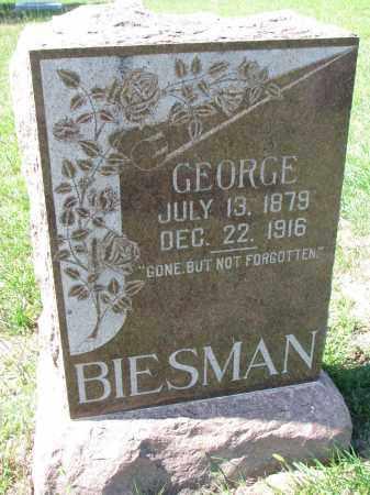 BIESMAN, GEORGE - Yankton County, South Dakota | GEORGE BIESMAN - South Dakota Gravestone Photos