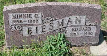 BIESMAN, MINNIE C. - Yankton County, South Dakota | MINNIE C. BIESMAN - South Dakota Gravestone Photos