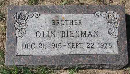 BIESMAN, OLIN - Yankton County, South Dakota | OLIN BIESMAN - South Dakota Gravestone Photos
