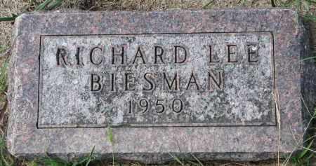 BIESMAN, RICHARD LEE - Yankton County, South Dakota   RICHARD LEE BIESMAN - South Dakota Gravestone Photos