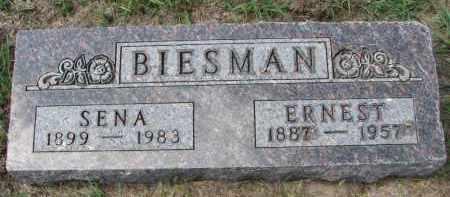 BIESMAN, ERNEST - Yankton County, South Dakota | ERNEST BIESMAN - South Dakota Gravestone Photos