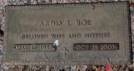 BOE, ARDIS L. - Yankton County, South Dakota   ARDIS L. BOE - South Dakota Gravestone Photos