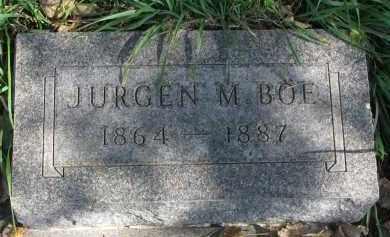 BOE, JURGEN M. - Yankton County, South Dakota | JURGEN M. BOE - South Dakota Gravestone Photos