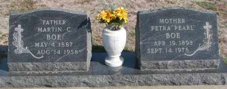 "BOE, PETRA ""PEARL"" - Yankton County, South Dakota 