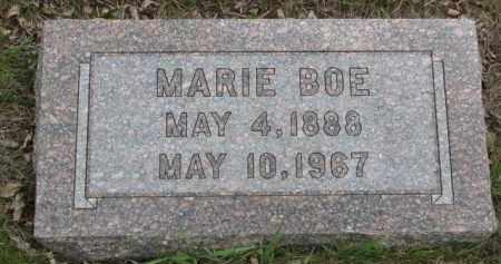 BOE, MARIE - Yankton County, South Dakota | MARIE BOE - South Dakota Gravestone Photos