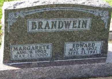 BRANDWEIN, MARGARETE - Yankton County, South Dakota | MARGARETE BRANDWEIN - South Dakota Gravestone Photos