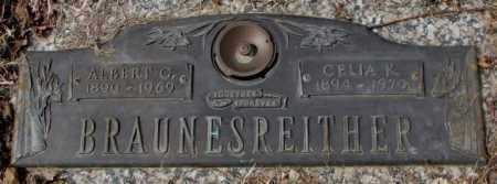 BRAUNESREITHER, ALBERT G. - Yankton County, South Dakota   ALBERT G. BRAUNESREITHER - South Dakota Gravestone Photos