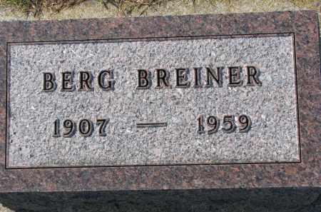 BREINER, BERG - Yankton County, South Dakota | BERG BREINER - South Dakota Gravestone Photos
