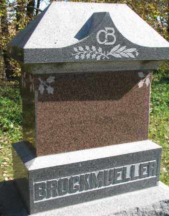 BROCKMUELLER, FAMILY STONE - Yankton County, South Dakota | FAMILY STONE BROCKMUELLER - South Dakota Gravestone Photos