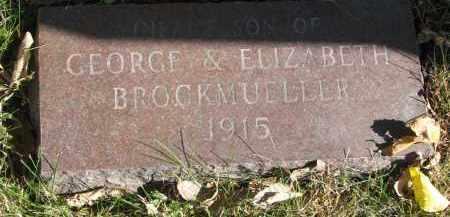 BROCKMUELLER, INFANT SON - Yankton County, South Dakota   INFANT SON BROCKMUELLER - South Dakota Gravestone Photos