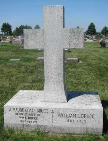 BRUCE, WILLIAM L. - Yankton County, South Dakota | WILLIAM L. BRUCE - South Dakota Gravestone Photos