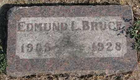 BRUCE, EDMUND L. - Yankton County, South Dakota | EDMUND L. BRUCE - South Dakota Gravestone Photos