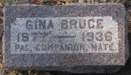 BRUCE, GINA - Yankton County, South Dakota | GINA BRUCE - South Dakota Gravestone Photos