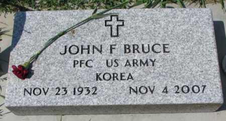 BRUCE, JOHN F. - Yankton County, South Dakota | JOHN F. BRUCE - South Dakota Gravestone Photos