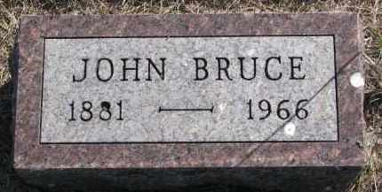 BRUCE, JOHN - Yankton County, South Dakota | JOHN BRUCE - South Dakota Gravestone Photos