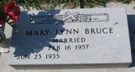 BRUCE, MARY LYNN - Yankton County, South Dakota   MARY LYNN BRUCE - South Dakota Gravestone Photos