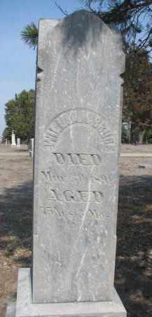 BRUCE, WILLIAM - Yankton County, South Dakota   WILLIAM BRUCE - South Dakota Gravestone Photos