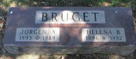 BRUGET, JORGEN A. - Yankton County, South Dakota | JORGEN A. BRUGET - South Dakota Gravestone Photos