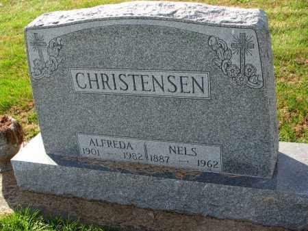 CHRISTENSEN, ALFREDA - Yankton County, South Dakota   ALFREDA CHRISTENSEN - South Dakota Gravestone Photos
