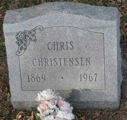 CHRISTENSEN, CHRIS - Yankton County, South Dakota | CHRIS CHRISTENSEN - South Dakota Gravestone Photos
