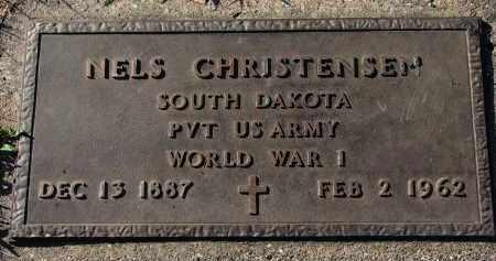 CHRISTENSEN, NELS (WW I) - Yankton County, South Dakota   NELS (WW I) CHRISTENSEN - South Dakota Gravestone Photos