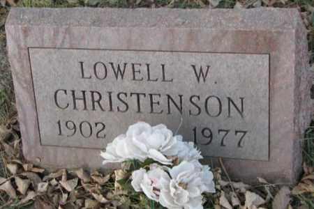 CHRISTENSON, LOWELL W. - Yankton County, South Dakota | LOWELL W. CHRISTENSON - South Dakota Gravestone Photos