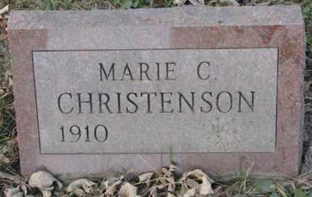 CHRISTENSON, MARIE C. - Yankton County, South Dakota | MARIE C. CHRISTENSON - South Dakota Gravestone Photos
